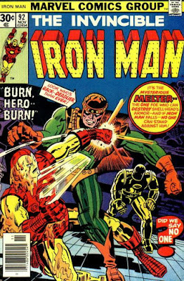 Iron Man #92, the Melter is back