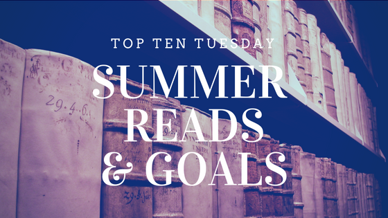 Summer Reads - Top Ten Tuesday on Reading List