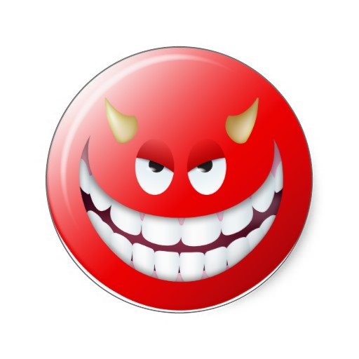 10+ Stunningly Best Devil Smileys | Smiley Symbol