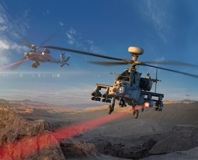 #TrueNews : US Army testing attack helicopter that fires at targets with laser weapons !