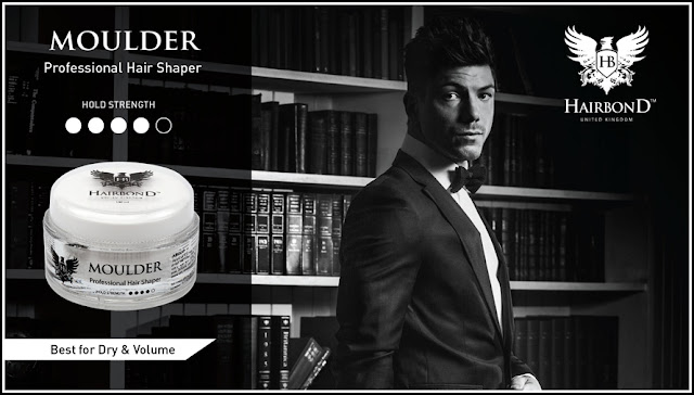 Pomade Hairbond Moulder Professional Hair Wax