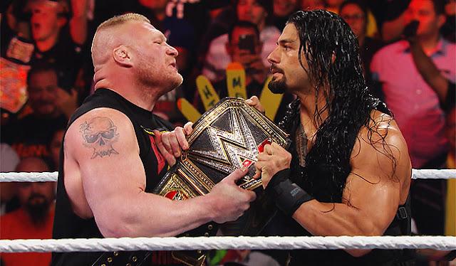 Brock Lesnar vs Roman Reigns for WWE Universal Championship