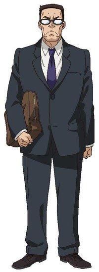 Yasuhiro Mamiya como Profesor de la historia Sensei to Issho