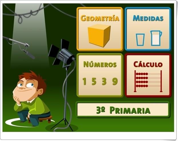 """""""Juegos, Números… ¡Acción!"""". 3º de Primaria."""