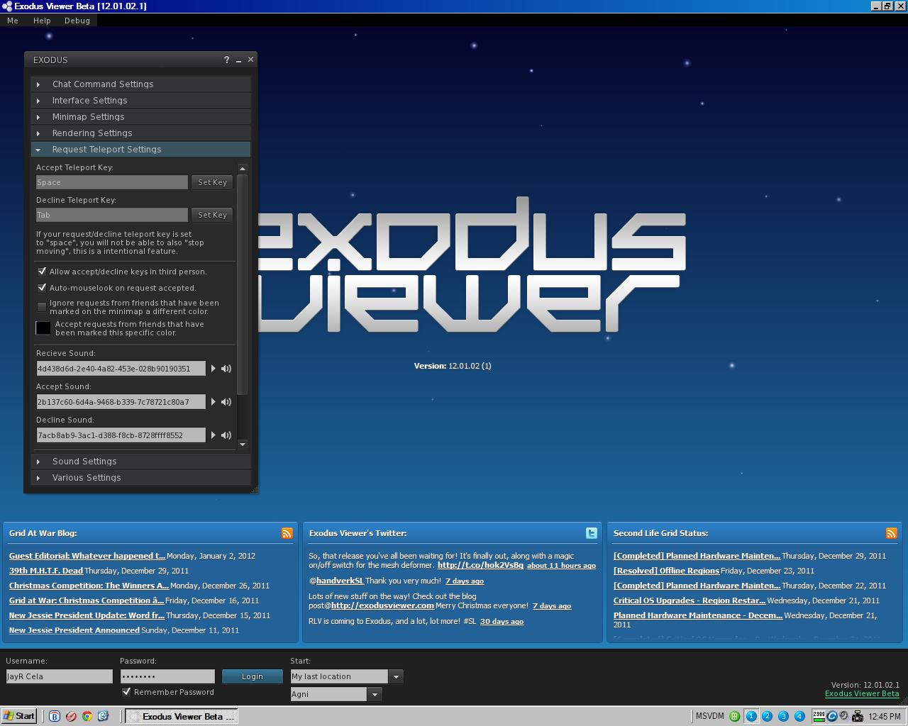 The Virtual World Technologist: SecondLife : A Closer Look At Exodus