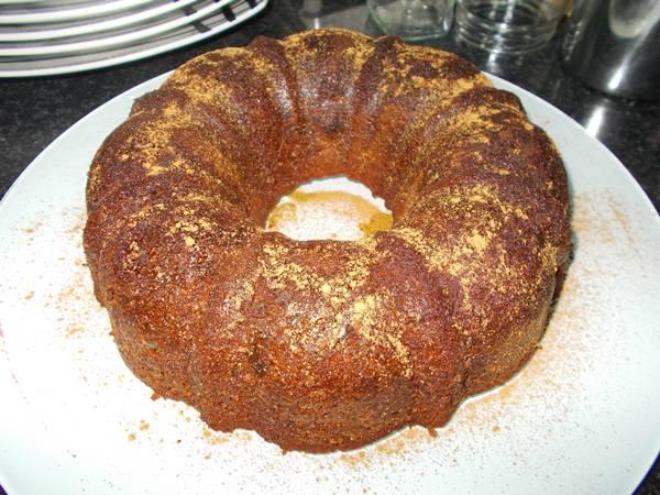 Receita de bolo de aveia com coco e frutos secos