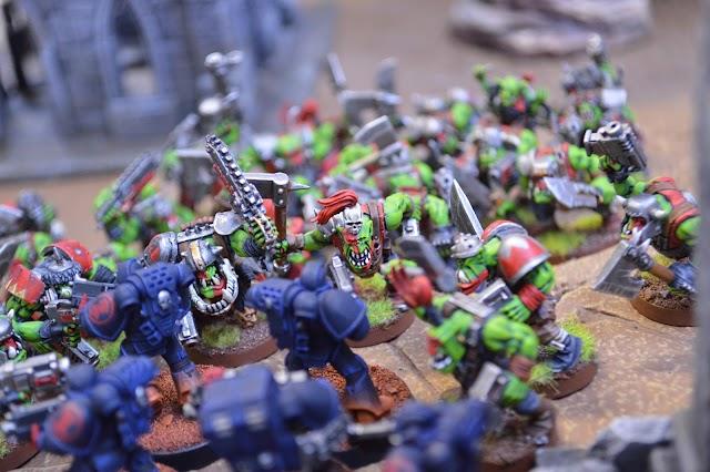 Battle Report (Orks vs Crimson Fists)