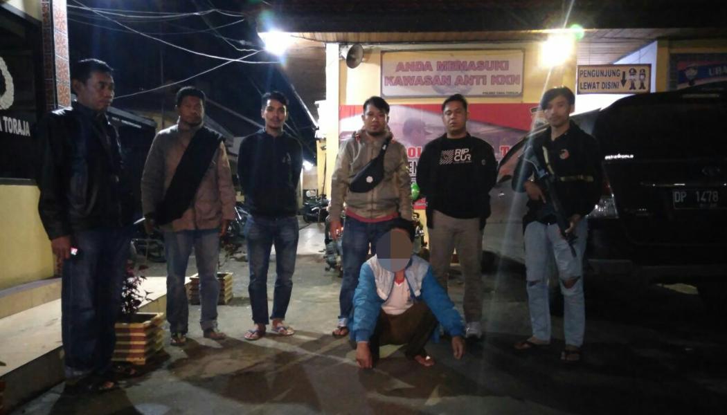 Polisi Amankan Pelaku Pembunuhan di Toraja Utara, Ini Pengakuannya