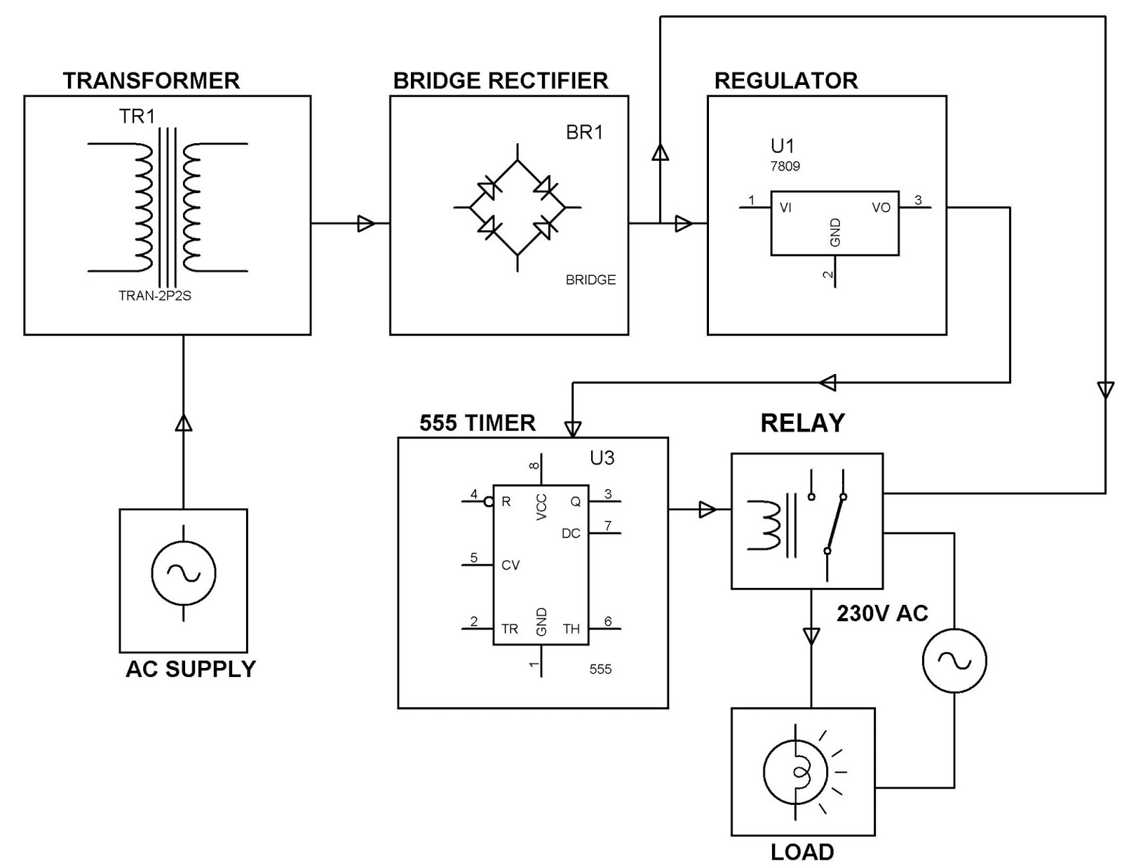 Electronics Project  Malaysia   Time Delay Based Relay