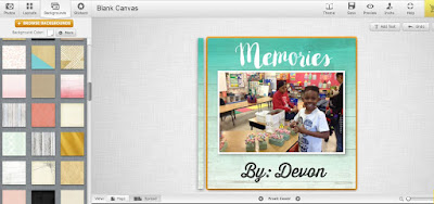 Have students use Mixbook.com to create memory books about their year