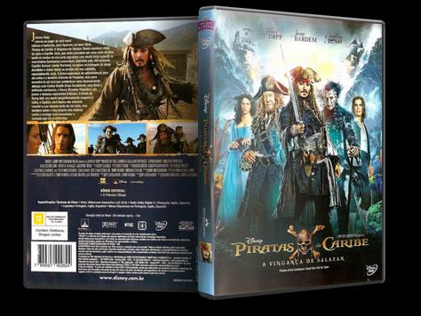 Capa DVD Piratas do Caribe: A Vingança de Salazar