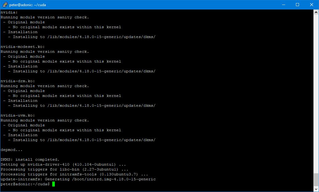Installing tensorflow on Ubuntu 18 | Electrons Free
