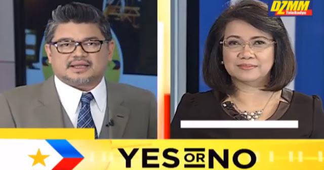 Chief Justice Maria Lourdes Sereno Sumagot ng YES or NO sa Programang BANDILA
