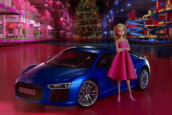Audi publicidad navideña