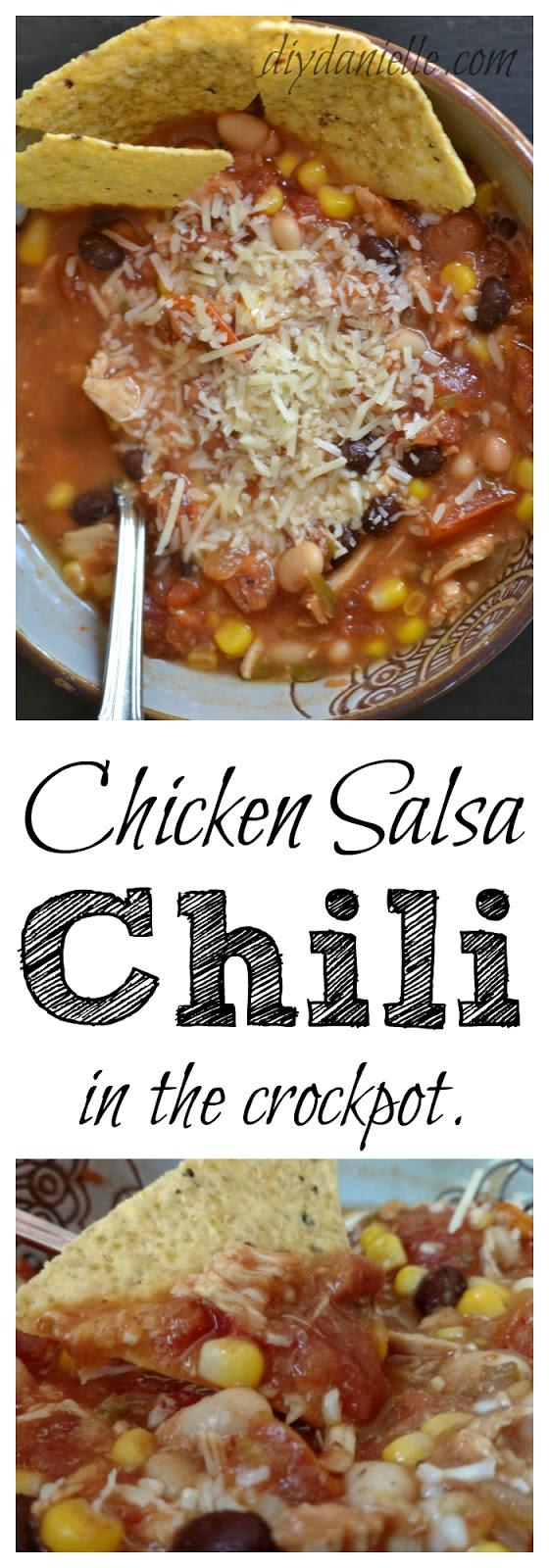 Recipe for Chicken Salsa Chili