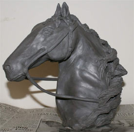 clay horse sculpture, clay sculpture demonstration, clay art tutorial