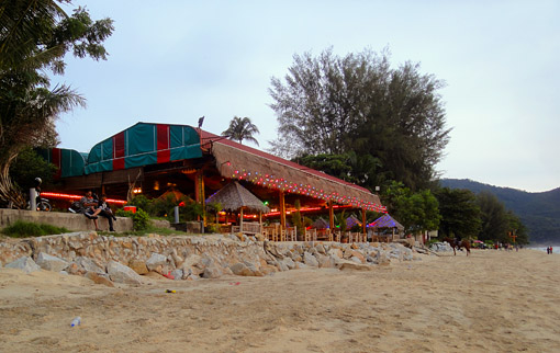 Seafood restaurant at the waterfront