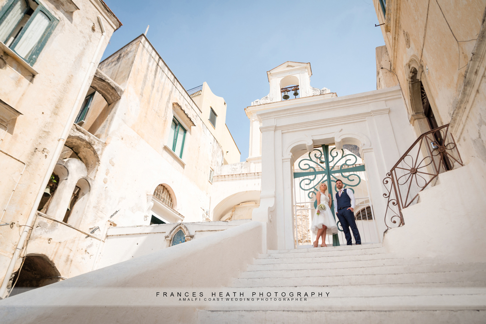 Elopement wedding in Atrani