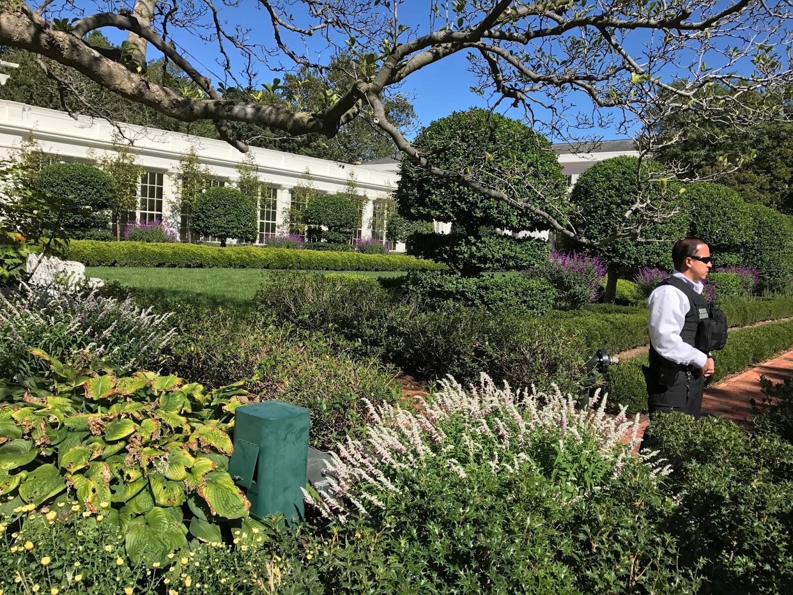 2 Dudes Who Love Food: The White House Kitchen Garden, Washington, D.C.