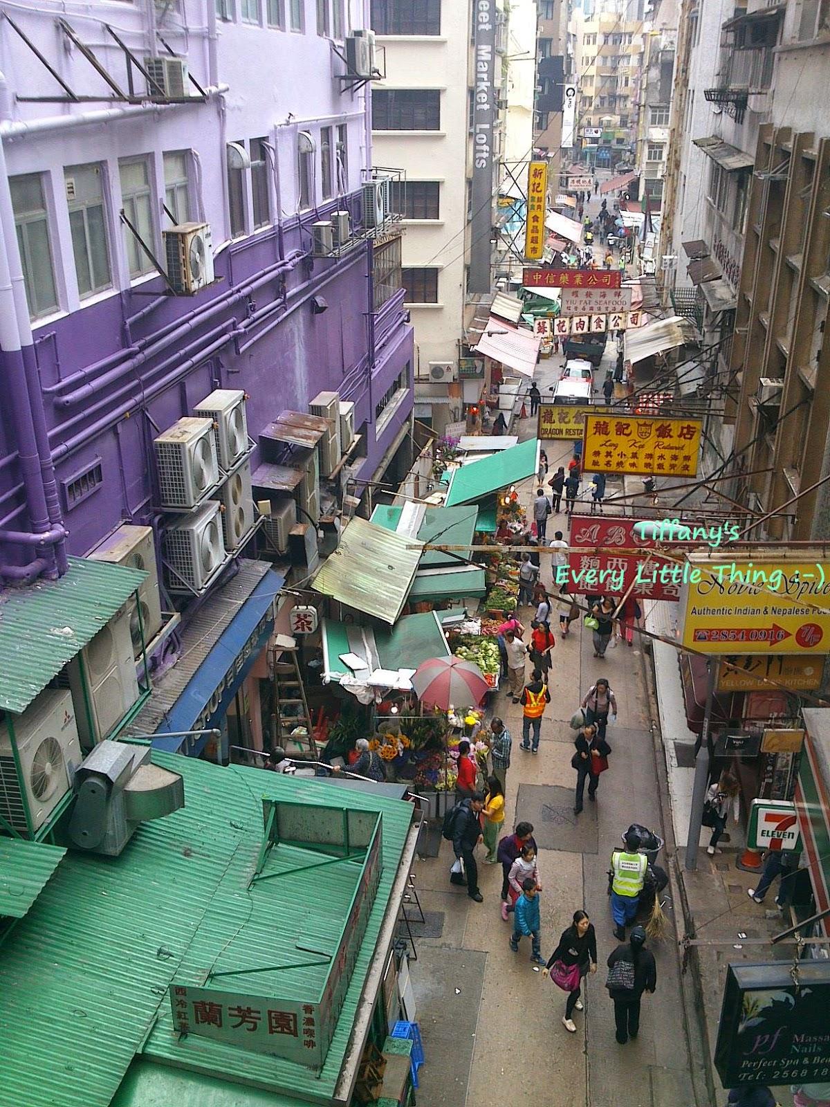Tiffany's Every Little Thing: [365+364/365] 香港中環─半山手扶梯蘭芳園:絲襪奶茶滑滑滑