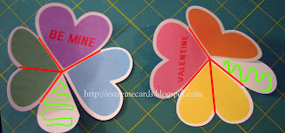 heart circle card