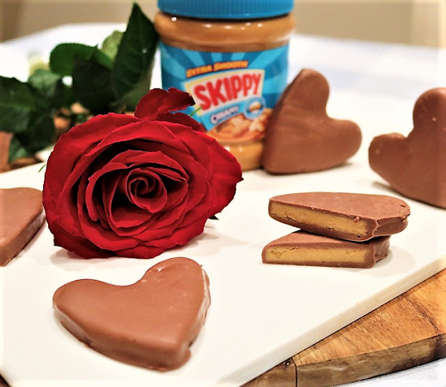 Skippy® Peanut Butter Chocolate Hearts