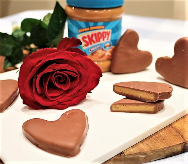 Skippy® Peanut Butter Chocolate Hearts