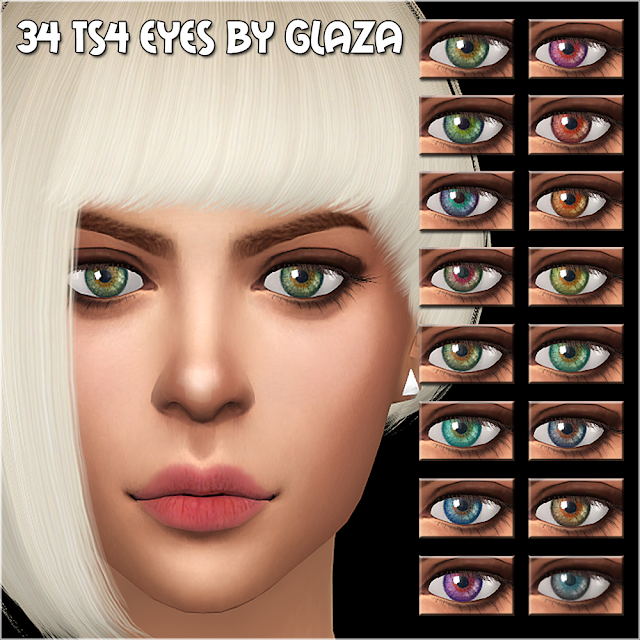 34 ts4 eyes by glaza