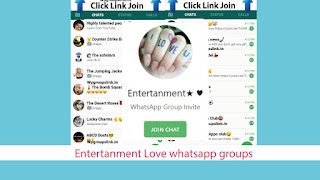 Entertanment Love whatsapp groups invite