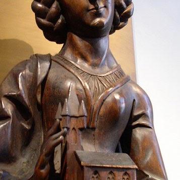 heilige barbara bronze
