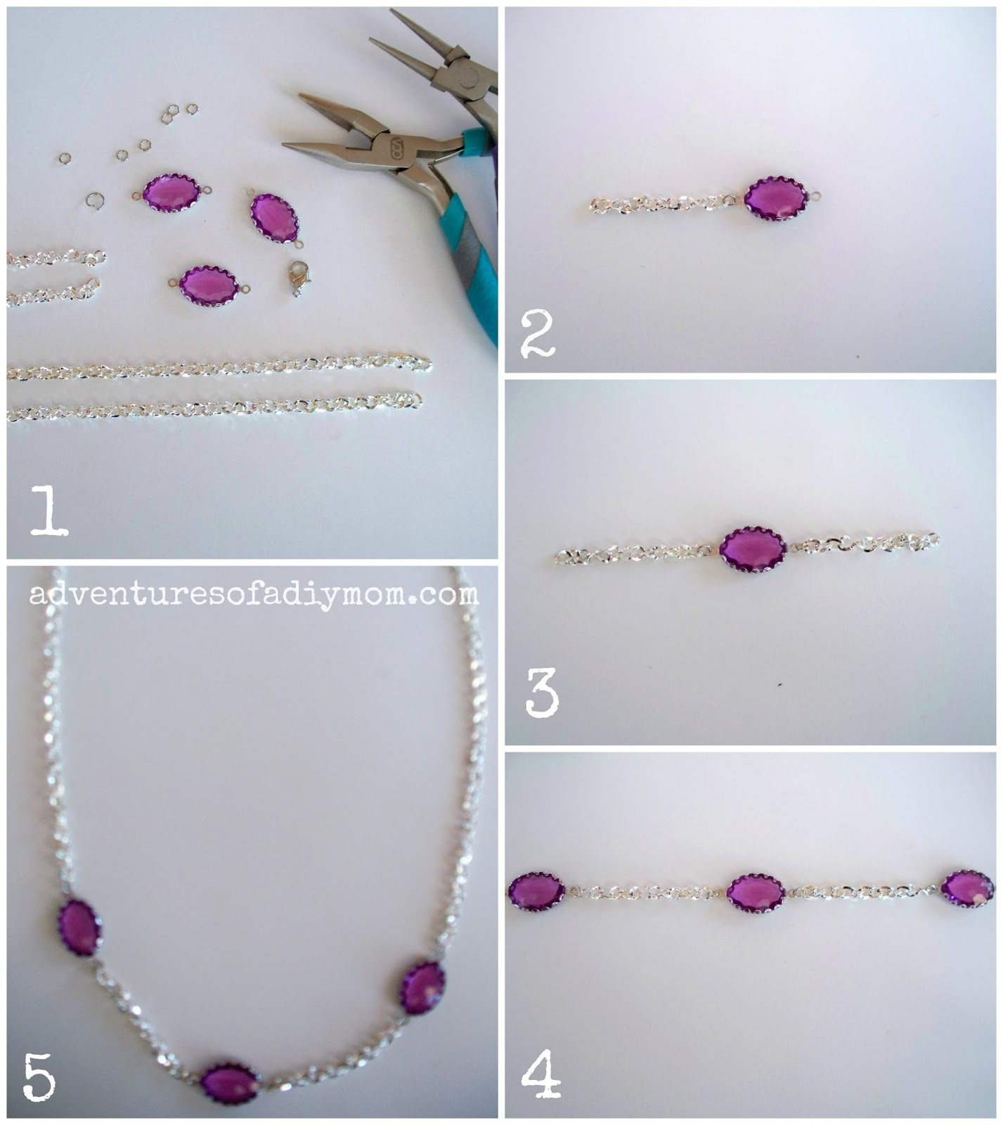 How to Make a Violet Necklace