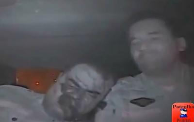 Llenan de Plomo a Policias dentro de su Patrulla