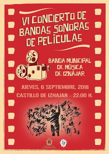 V Concierto de bandas sonoras de películas en Iznájar