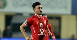 صلاح محسن لاعب إنبي السابق يحرز أول هدف مع نادي الأهلى ضد النصر