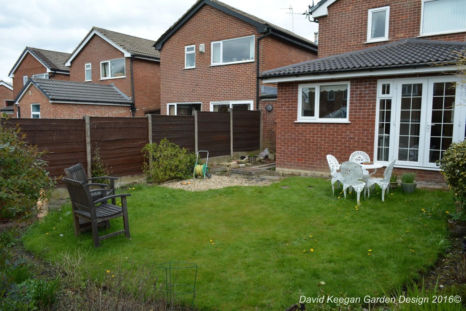 Garden Design Manchester david keegans garden design blog: a small suburban back garden in