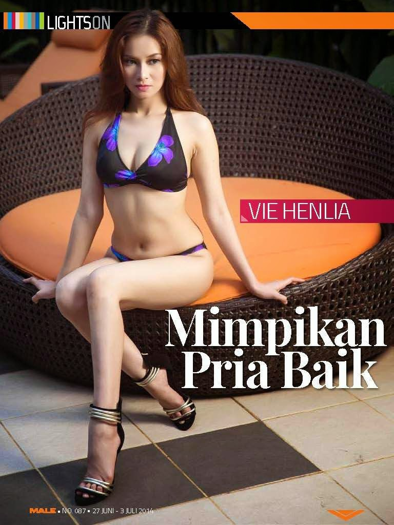 Hot Pictures Vie Henlia in Male Magazine 27 JUN 2014 - 04 JUL 2014