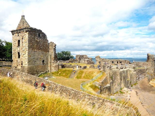 Castle, St Andrews, Fife, Scotland