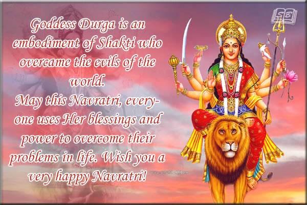 Happy Navratri Shayari 2018