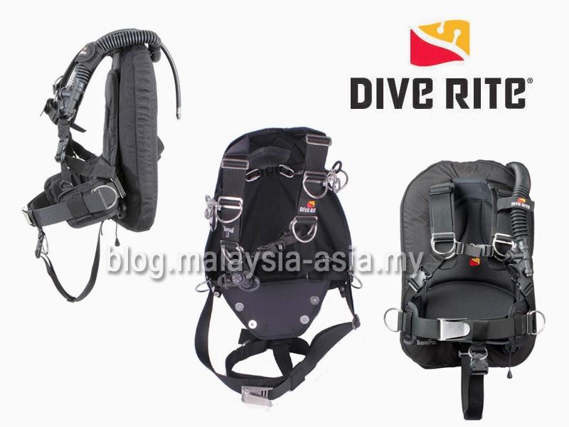 Dive Rite BCD's in Malaysia