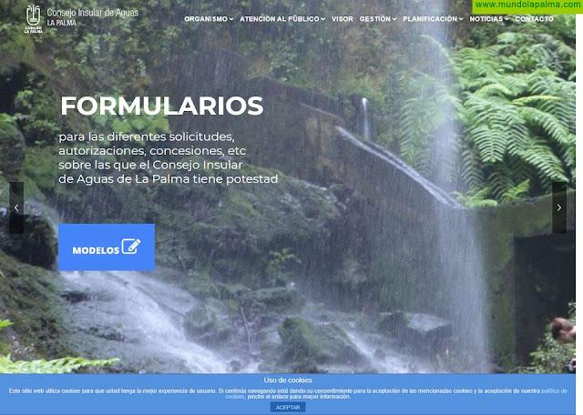 El Gobierno aprueba la modificación del estatuto orgánico del Consejo Insular de Aguas de La Palma