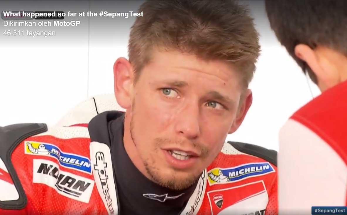 Kejutan..!! Stoner Tercepat Kedua Test Pra Musim MotoGP 2016 Sepang