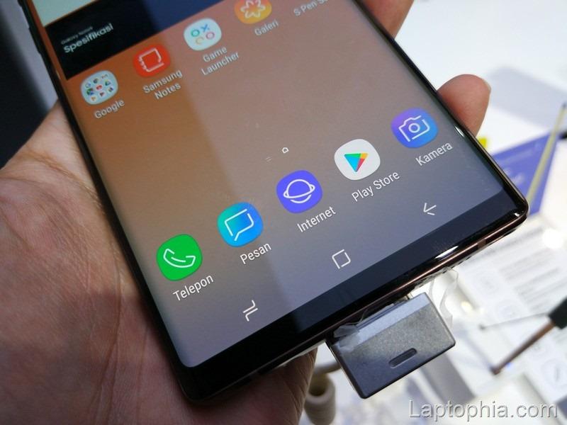 Desain Samsung Galaxy Note 9