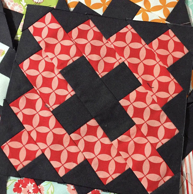 Frivols Kindred Quilt Blocks by Thistle Thicket Studio. www.thistlethicketstudio.com