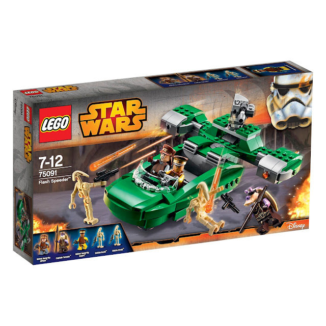 Set LEGO Star Wars - Flash Speeder