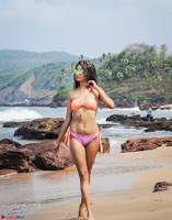 Anjusha Bhattacharyya in Bikini Portfolio Stunning Indian Model Actress Beauty ~  Exclusive Galleries 008.jpg