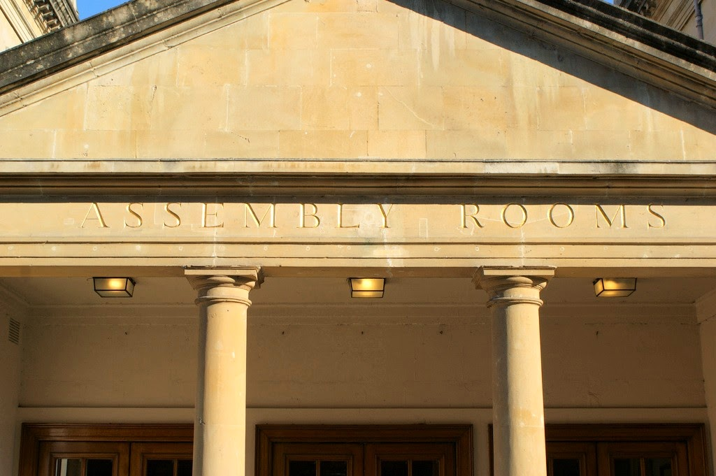 Entrance to the Assembly Rooms, Bath