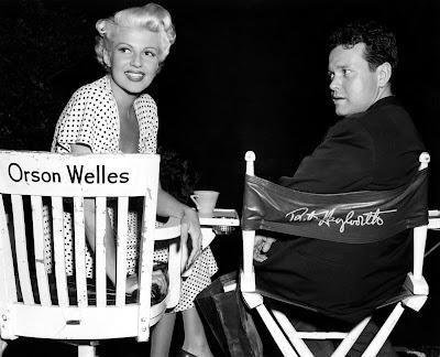 Rita Hayworth detrás de las cámaras