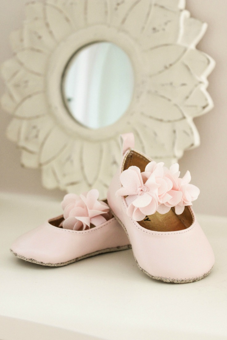 baby shoes nursery decor
