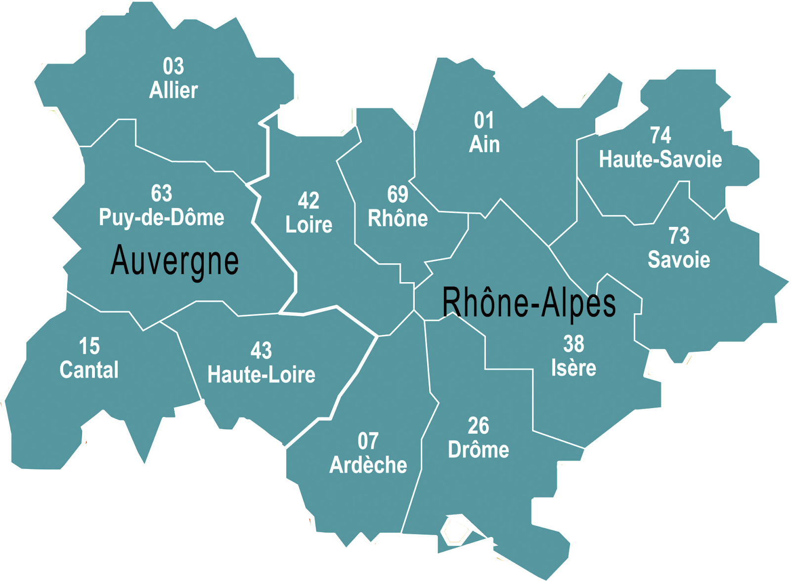 Behind the french menu regions frances mainland regions and lyon in the department of rhne is the regional capital thecheapjerseys Image collections