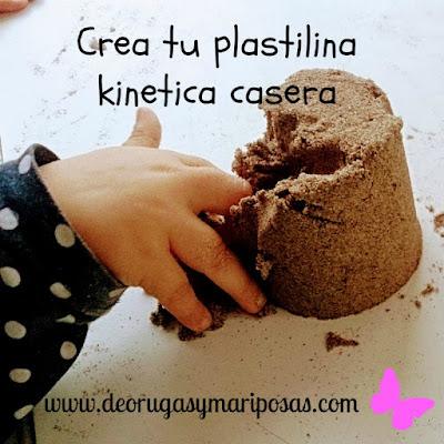 plastilina kinética casera